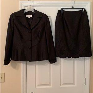 Oleg Cassini Skirt Suit